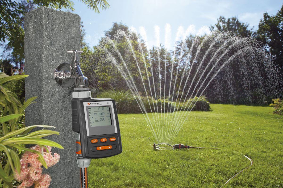 Автоматизация дождевателя