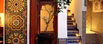 Марокканский стиль в дизайне интерьера - это оригинально!