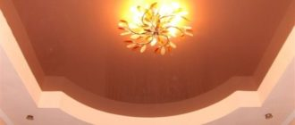 Дизайн потолков в зале с фото: натяжные, подвесные, потолки из гипсокартона