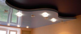 Как мыть натяжной глянцевый потолок