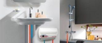 Как установить электрический водонагреватель