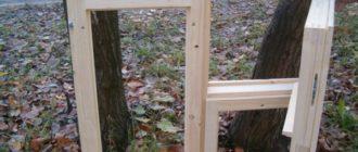 Как сделать деревянное окно своими руками: чертежи, видео