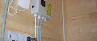 Ввод электричества в деревянный дом: со столба, под землей, трубостойка