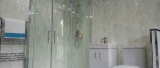Установка панелей пвх в ванной
