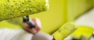 Краска для стен: акриловая, водоэмульсионная, декоративная, структурная, латексная + фото, видео