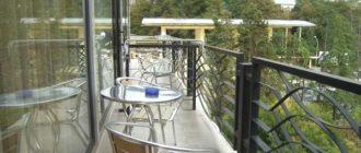 Встроенная мебель для балкона и лоджнии своими руками, фото инструкция