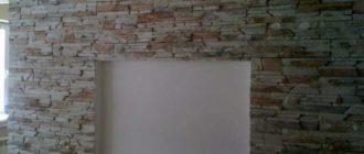 Кухня с нишей в стене + фото
