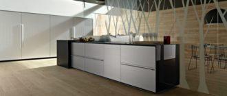 Кухня в стиле хай тек: интерьер, дизайн + фото