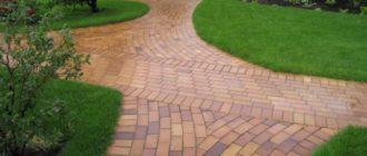 Укладка и технология укладки тротуарной плитки своими руками на бетонное основание, песок + фото и видео
