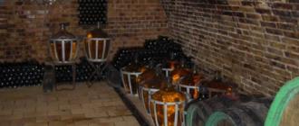 Винный погреб в частном доме