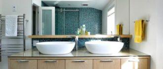 Влагозащищенные светильники для ванной комнаты + фото