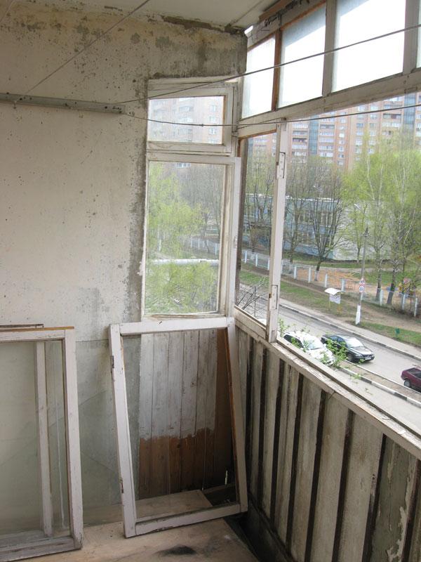 Остекление балконов и лоджий алюминиевым профилем + фото и видео
