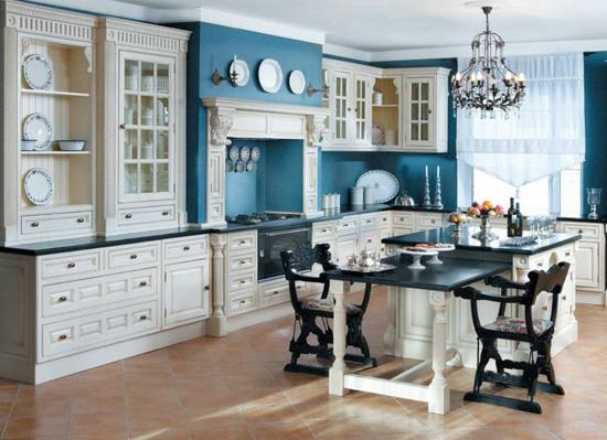Кухня в английском стиле + фото