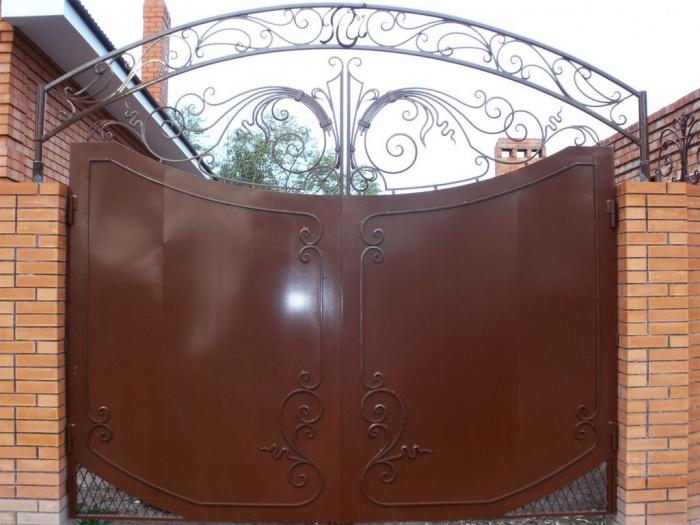 Краска для ворот