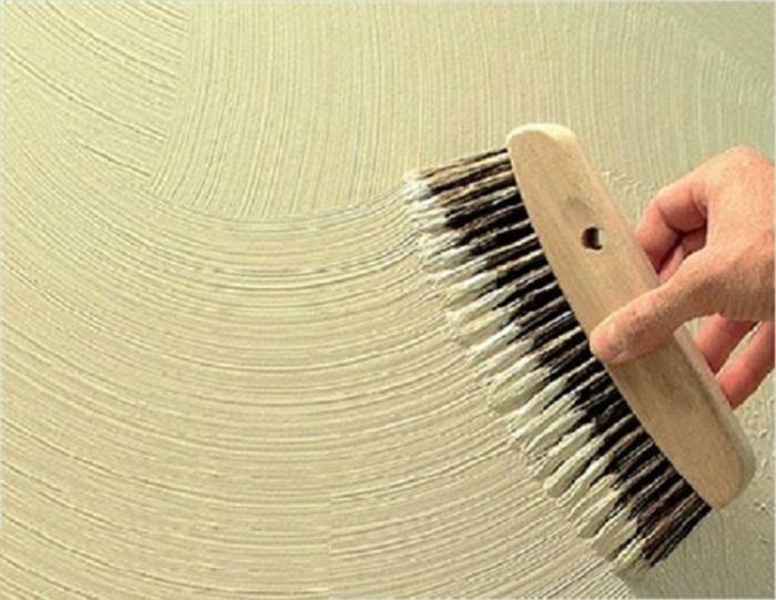 Декоративная штукатурка своими руками из обычной шпаклевки