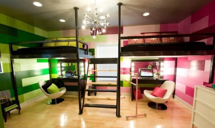 Мебель для детской комнаты мальчика и девочки