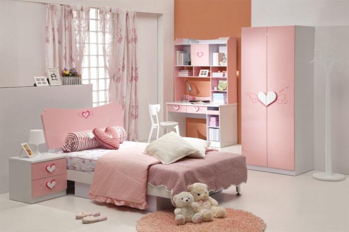 Дизайн детской спальни + фото
