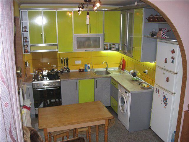 Кухня 8 м в панельном доме