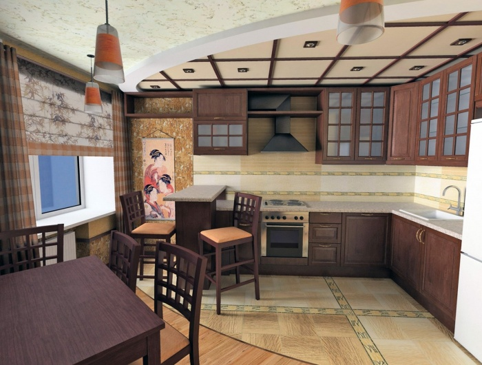 Кухня в восточном стиле + фото