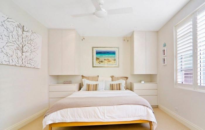 Дизайн небольшой спальни в квартире+фото