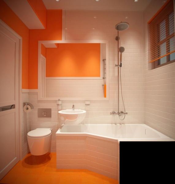 Дизайн ванной комнаты 9 кв м + фото