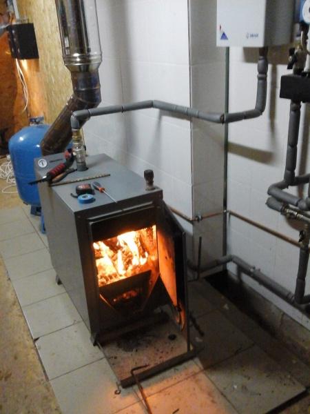 Дровяные котлы для отопления дома