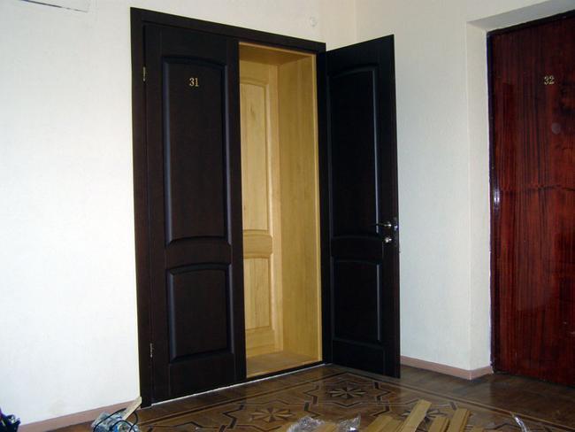 Двери звукоизоляционные