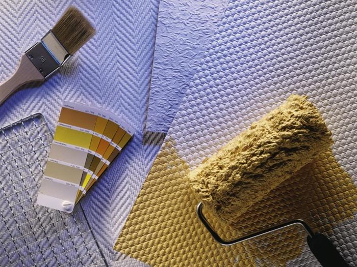 Флизелиновые обои для потолка + фото