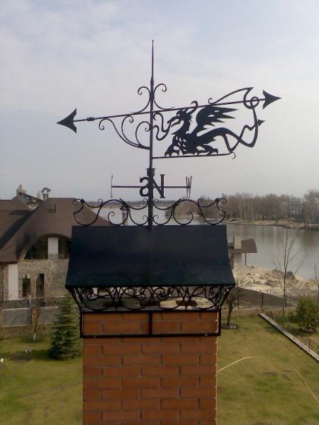 Флюгер на дымоход
