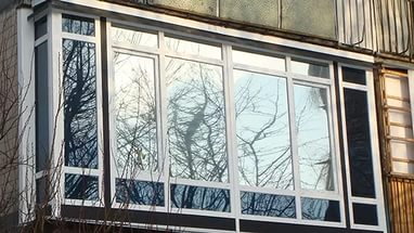 Французский балкон + фото