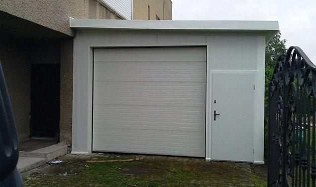 Как пристроить гараж к дому