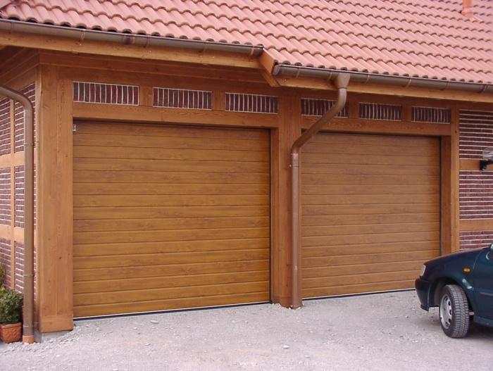 Рулонные ворота для гаража
