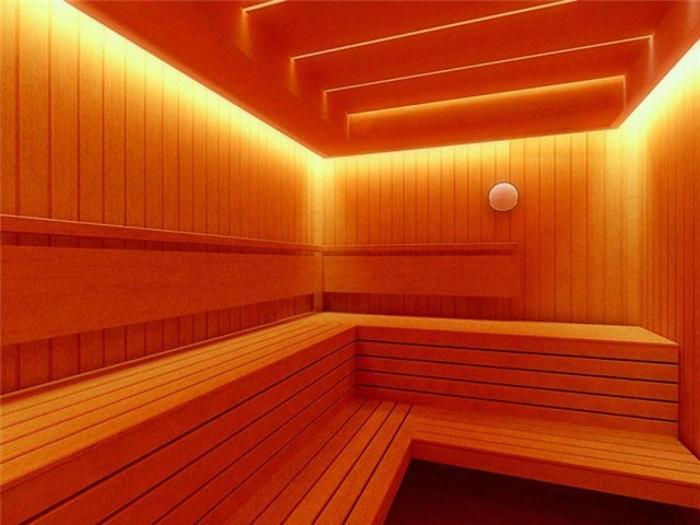 Интерьер бани + фото