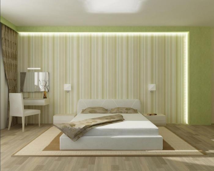 Интерьер спальни + фото