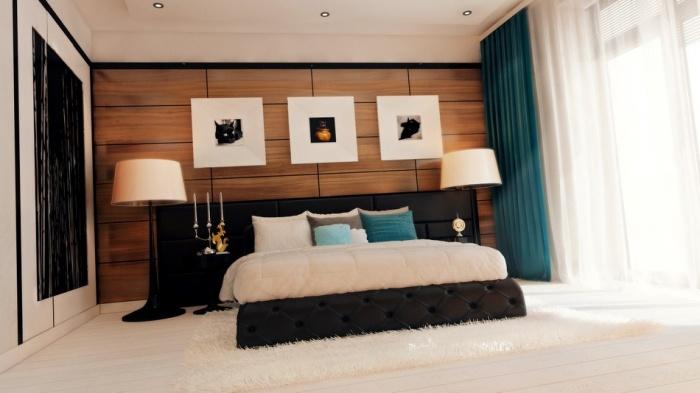Интерьер спальни в современном стиле + фото