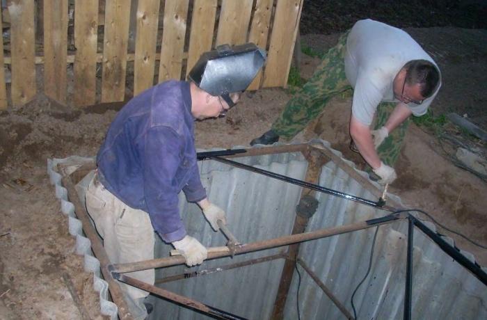 Как сделать картофельную яму 534