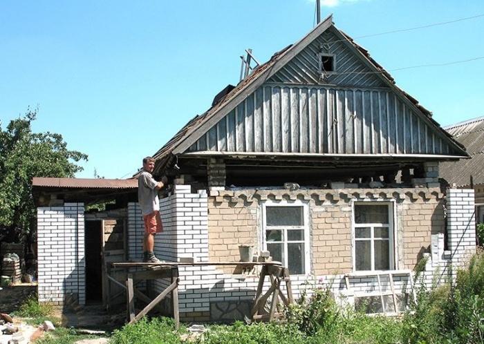 Как поднять крышу в частном доме