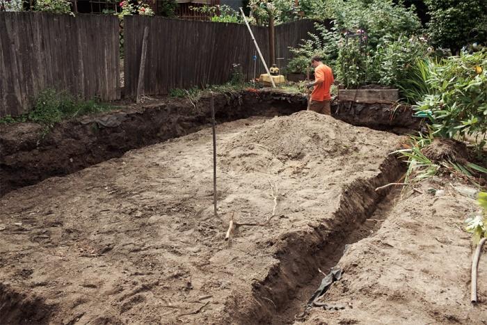 Как залить фундамент для дома