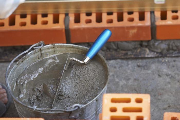 Как замесить раствор для кладки кирпича