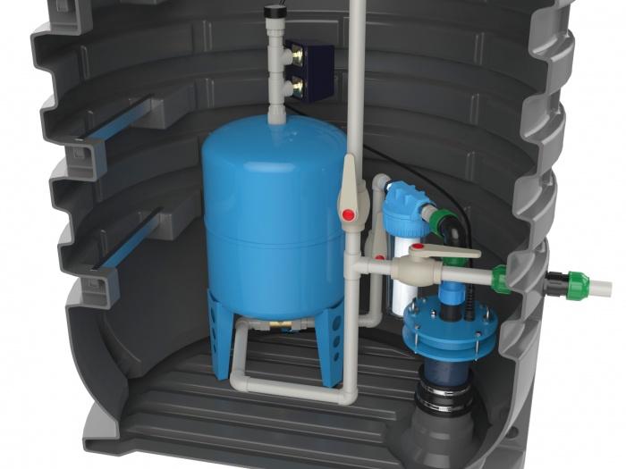 Провести воду из скважины + видео