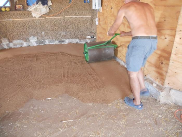 Как залить пол в гараже