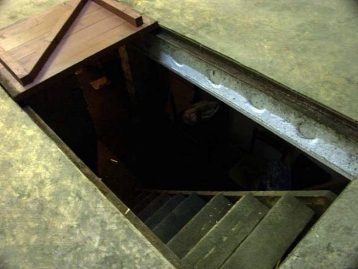 Вентиляция в погребе в гараже