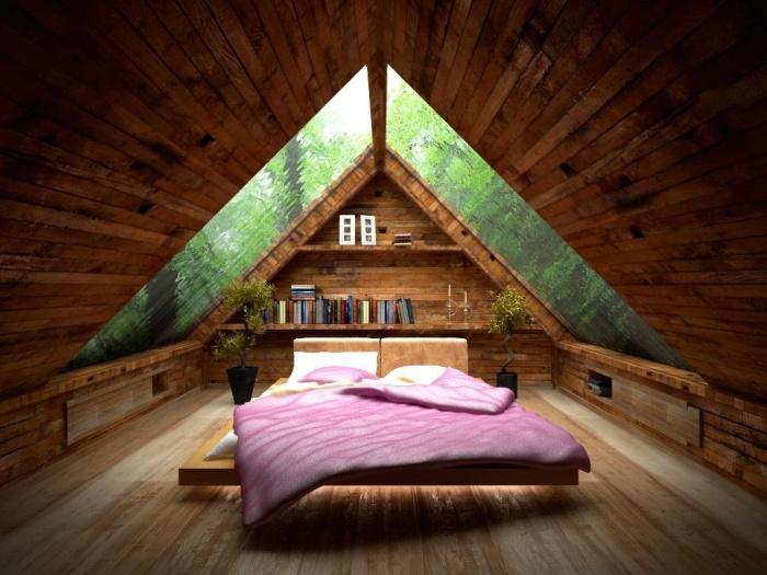 Как сделать чердак жилой комнатой