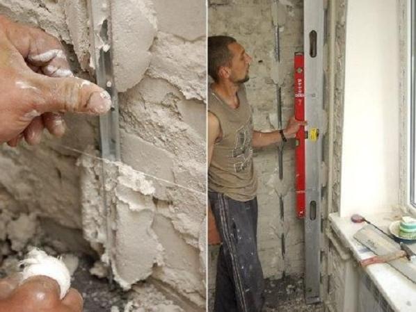 Как штукатурить стены гипсовой штукатуркой + видео