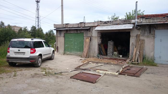 Как увеличить проем гаражных ворот