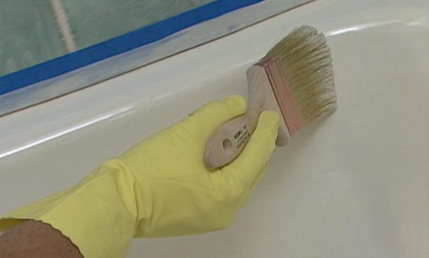 Покрытие акрилом ванны