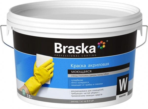 Краска моющаяся: латексная, акриловая, водоэмульсионная, интерьерная