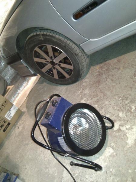 Обогреватель для гаража
