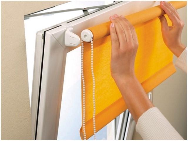 Защита от солнца на окна в квартире