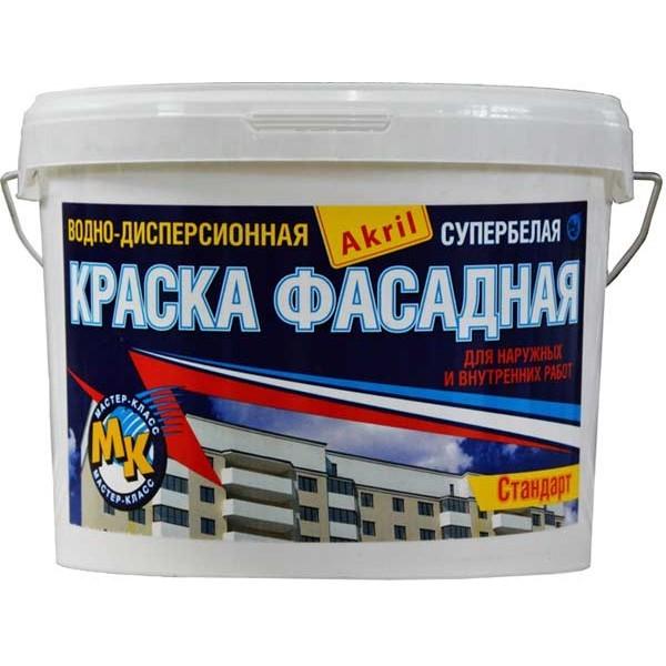 Краска для фасада дома: резиновая, силикатная, акриловая